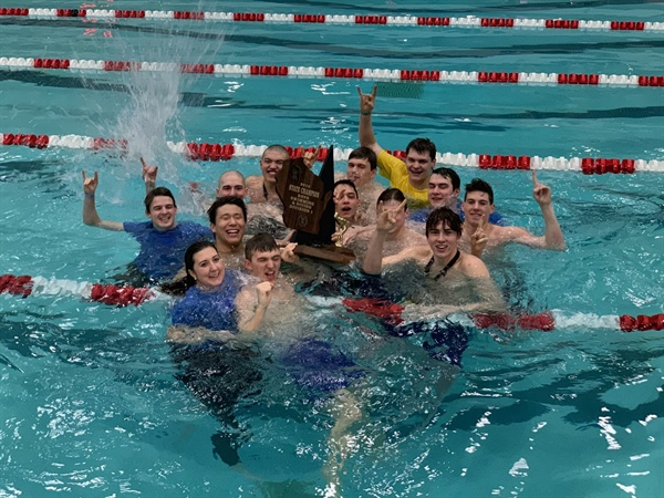 Madison West Continues Boys Swimming & Diving Reign in Division 1