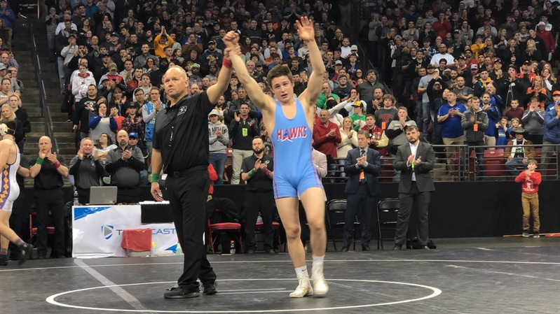 Boyceville's Slough Wins Fourth State Individual Wrestling Title