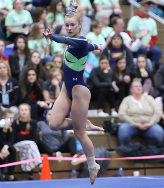 Individual Champions Crowned in Gymnastics