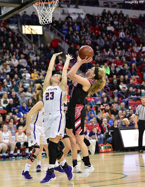 Black Hawk Wins Division 5 Girls Basketball State Championship