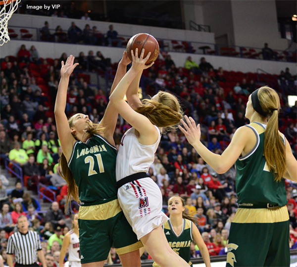 Marshall Captures Consecutive Division 3 Girls Basketball Title