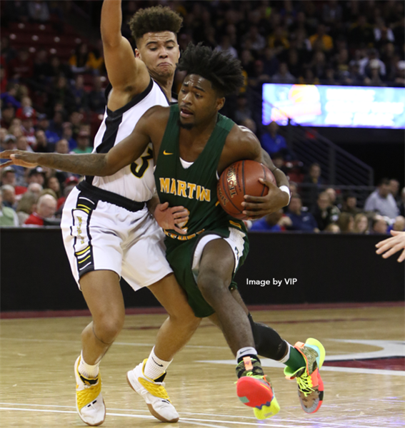Martin Luther Claims Div. 3 Boys Basketball Title