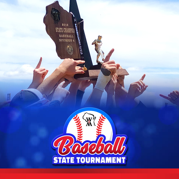 Webster, Stratford, Antigo, Eau Claire North Win State Baseball Titles