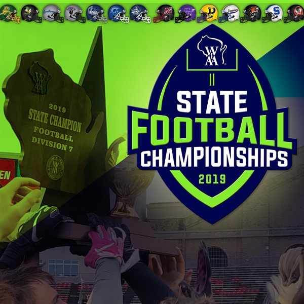 State Football Titles Won in Four Divisions Thursday