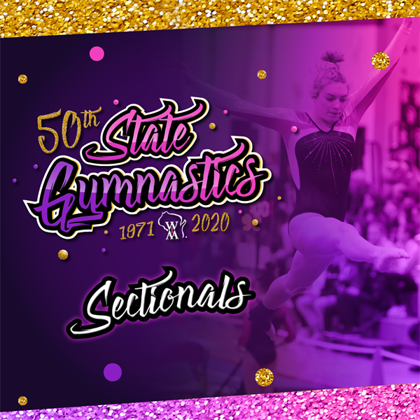 Girls Gymnastics Sectionals Results