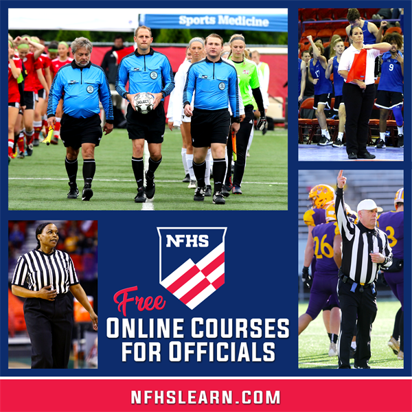 NFHS Offering Free Online Courses for Officials