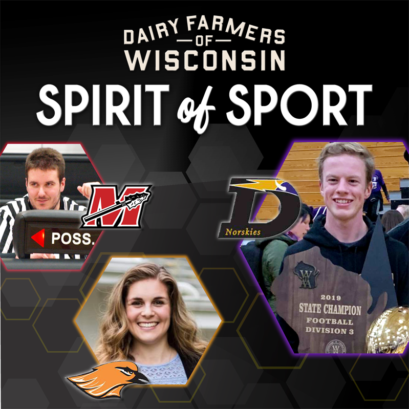 Szepieniec of DeForest Receives WIAA Spirit of Sport Award...Watch Presentation