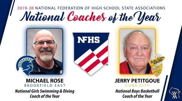 Petitgoue; Rose Selected National Coach of the Year in Respective Sports