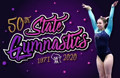 Gymnastics Celebrates 50th State Tourney