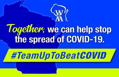 Join in on the #TeamUpToBeatCOVID Campaign on Social Media